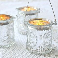 table decoration mariage photophore lanterne baroque mercurisé