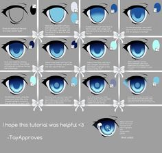 SAI Eye Tutorial by Iseanna.deviantart.com on @deviantART