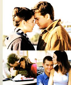 6. Pacey Witter & Joey Potter (Dawson's Creek)  Joey: I want to be with you, Pacey.  I want to stay and be with you. Pacey: Well, if you want to be with me, then staying here would be a  really stupid idea, considering I don't plan to be here.  I plan to be  wherever you are.