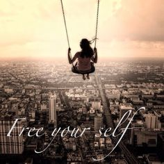 free your mind off of every evil thoughts and have a  clear mind and soul..shake off all the negativity