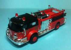 Busch american lafrance chicago fire department 1/87