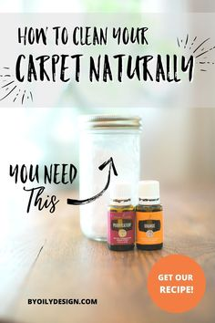 Looking for a simple and easy way to keep your home smelling fresh and clean? What you need to know about how to create a DIY carpet cleaner. The easiest and eco friendly way to clean your carpets. Create your own carpet cleaner with essential oils and non-toxic supplies for a safe and clean home. #DIYCarpetCleaner #EssentialOils #NonToxicHome