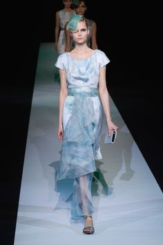 Giorgio Armani:Spring/Summer 2013:Review | ELLE UK