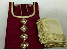 Embroidery Suits Punjabi, Hand Embroidery Dress, Punjabi Salwar Suits, Punjabi Dress, Indian Suits, Indian Dresses, Kurtha Designs, Crazy Dreams, Mirror Work Blouse