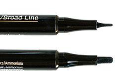 IsaDora ♥ Twin Tip Eyeliner http://beautyboulevard.se/jeyq Recension Review Eyeliner Wing Vinge Double Tip Dubbel Tipp