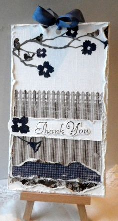 Thank you card - Scrapbook.com