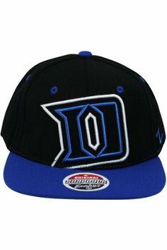 83f1f46db3da0 Zephyr Xray Duke University Blue Devils Snapback Hat Black. Size  .  14.99