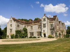 Chawton House, Chawton, Hampshire. Grade ll* listed Elizabethan manor house. Formerly the home of Jane Austen's brother, Edward Austen Knight