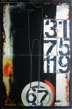 affiche / poster / sur masonite / 070 / par tetedecaboche1965, $30.00