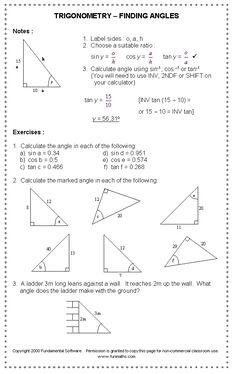 math worksheet : free high school math worksheet from funmaths teaching  : High School Math Worksheets