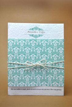Convites de Casamento - Convites Papel