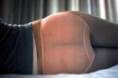 Scarlett Johansen's backside at the beginning of Lost In Translation