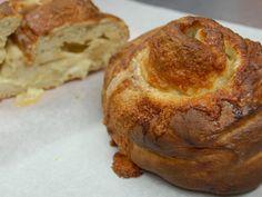 spiral cheddar loaves