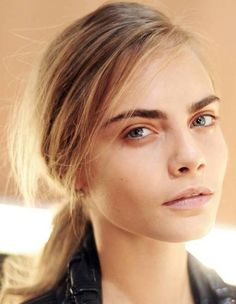 Cara Delevingne Longer Hairstyle & Blonde Highlights //  #blonde #Cara #Delevingne #Hairstyle #Highlights #Longer