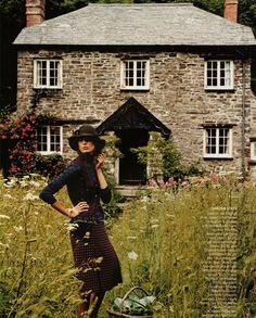Home in the English countryside