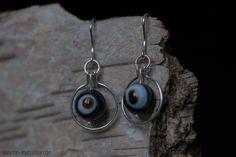 Zilveren oorbellen agaat in ring | Silver earrings agate in loops Handmade Jewellery, Stones, Drop Earrings, Jewelry, Handmade Jewelry, Rocks, Jewlery, Jewerly, Schmuck
