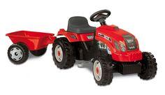 Stor traktor fra Jollyroom (bursdagsgave 2015 fra mamma & pappa)