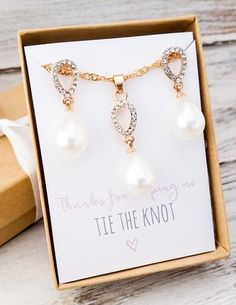 Gold/Silver Faux Pearl Jewelry Set