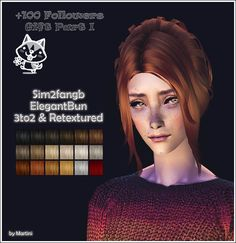 martinimyb:  Hope you like it my gift! Original Mesh made for TS3 by Sim2fangb (T$R) Converted&Retextured by me. All Ages. Pooklet Natural Colors & Red Bastet by Io. Grey for elders. Binned. Angles DOWNLOAD