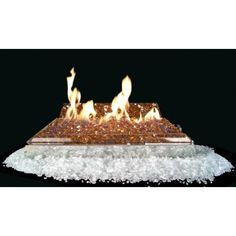 The RealFyre Fyre Glass Luxury Contemporary Gas Set is a modern alternative to gas logs that will bring your fireplace to the height of opulence! Fireplace Damper, Vented Gas Fireplace, Fireplace Doors, Glass Shield, Ceramic Fiber, Gem Diamonds, Gas Logs, Fire Glass, Pacific Blue
