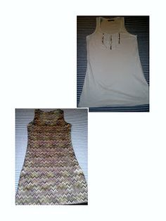 Tutorial: de Camiseta a Maxi-vestido. From Tanktop to Maxi-dress Tank Tops, Sewing, Dresses, Women, Fashion, Outfits, T Shirt Tutorial, Women's Dress Patterns, Long Gowns