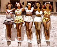 Tribal Mind: 1910's to 1950's Vintage Pictures - retro swimwear!