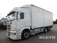 For sale: Used and second hand - Truck SCANIA Closed box R 500 #trucks at #kleyntrucks