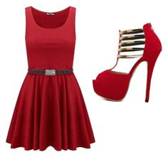 """""""Night Out #33"""" by guitargirlmads on Polyvore"""