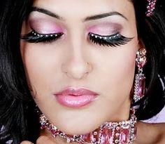 Wedding Makeup Eyes and Eyebrows