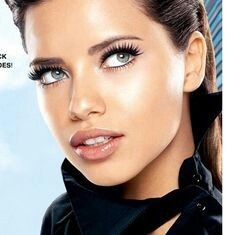 Adriana Lima...one of my favorite people in the world. She has so much inner and outer beauty, so much kindness, personality, and a great sense of humor. She represents the type of person I would like to be similar to... I once froze this very image for hours. She's ethereal and magical. Love her!!!