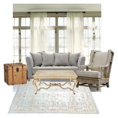 """Comfy"" by cms-teacher on Polyvore featuring interior, interiors, interior design, home, home decor, interior decorating and John-Richard"