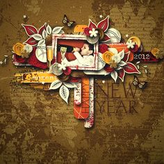 A New Year Full Kit by beedeesign    template Cluster magic 2.by Tinci Designs