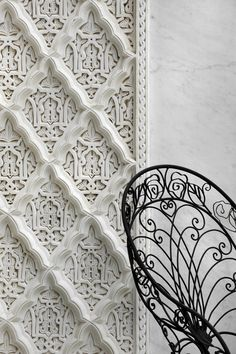 "Moroccan carved plaster ""stucco"" - La Sultana"