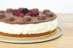 Deze Tony's Salted Caramel Cheesecake treat meal heeft natuurlijk iets te maken met Tony's Chocolonely, Rolo's en cheesecake! ;) Ga jij dit snel maken?