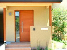 木製玄関ドア・木製サッシ・木製玄関引戸|A+made(エーメイド)|富山|施工例|N邸(山梨県)