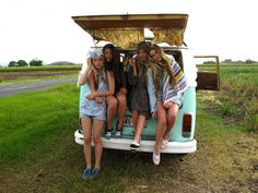 road trip if only I had a van this could be us next weekend @ Rachel jones