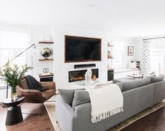 55 Incredible Farmhouse Living Room Sofa Design Ideas And Decor. If you are looking for 55 Incredible Farmhouse Living Room Sofa Design Ideas And Decor, You come to the right […]. Living Room Sofa Design, Family Room Design, Living Room Grey, Home Living Room, Living Room Designs, Family Rooms, Armchair Living Room, Living Room With Carpet, Apartment Living