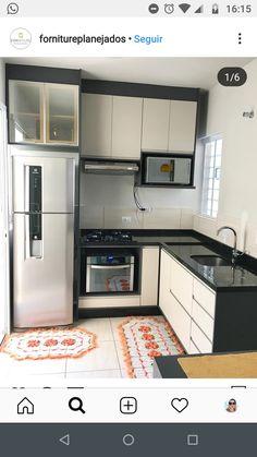 Fancy Kitchens, Brown Kitchens, Home Design Decor, Home Room Design, Modern Kitchen Design, Interior Design Kitchen, Home Decor Kitchen, Kitchen Furniture, Kitchen Cupboard Designs