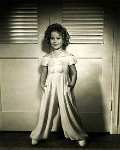 Shirley Temple, 1935 (I had this hair style in kindergarten n hated it lol)