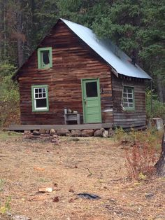 Cool little cabin in Idaho