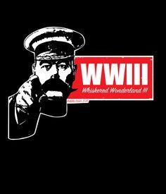 Whiskered Wonderland III Shirt designed for the WWIII beard and moustache competition in Worcester, MA. s-xxl Gildan Soft Style T-Shirt. xxxl - xxxxl Gildan 2000 T-Shirt
