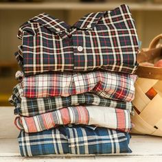Dreams of plaid for the Spring. Shirts by Dapper Suits, Well Dressed, Plaid Scarf, Nice Dresses, Menswear, Street Style, Mens Fashion, How To Wear, Clothes