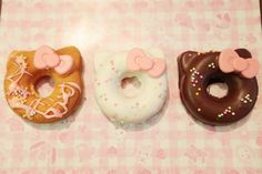 Hello Kitty Donuts at Sanrio Puroland in Japan!!!!