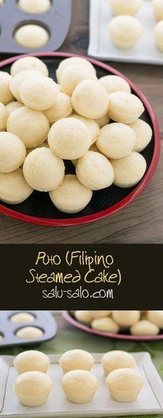 Puto (Filipino Steamed Cake)