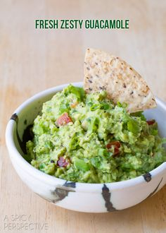 Easy Guacamole Recipe + Ideas for Add-Ins! #guacamole #fresh #avocado