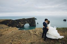 This groom chose a striking, deep blue, three piece bespoke Cad and The Dandy suit for his wedding, set against the dramatic scenery of Iceland. Wedding Suits, Our Wedding, Blue Tux, Iceland Wedding, Road Trip, Scenery, Groom, Wedding Inspiration, The Incredibles