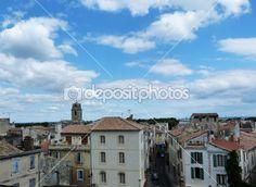 View of Arles, France