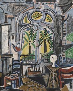 Pablo Picasso 'The Studio', 1955 © Succession Picasso/DACS 2014