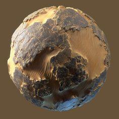 ArtStation - Desert Sandy Bedrock, Daniel Thiger