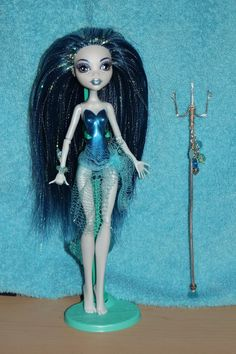 River Flows Monster High custom ooak doll by mythicalmommy1717